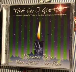 What Can I Give Him? Christmas CD by Mara Mulder New Sealed | eBay