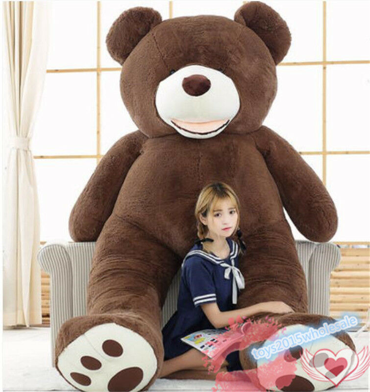 Giant Huge Big 78in. USA Teddy Bear Gift Plush Soft Toys Doll Stuffed  Animals