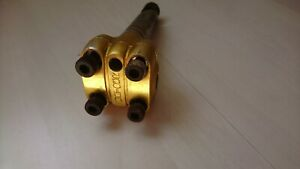 BMX Old school Power stem Gold