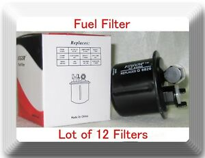 wholesales price lot of 12 fuel filter gf54689 fits honda. Black Bedroom Furniture Sets. Home Design Ideas