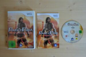 Wii-Prince-of-Persia-Les-oubliee-temps-Neuf-dans-sa-boite-avec-mode-d-039-emploi