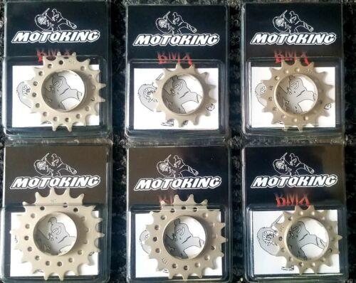 MOTOKING BMX RACE CHROMOLY 3//32 COG 16T