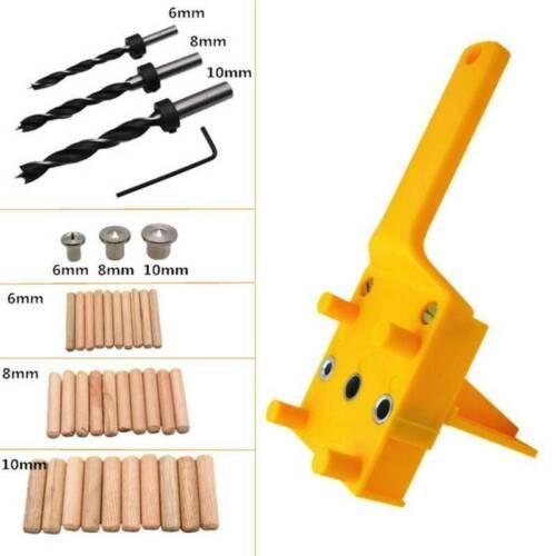 Dübelloch Holzbearbeitung Dübellehre Bohrhilfe Bohrloch Guide Bohrschablone Jig