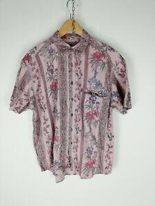 TOM-TAILOR-Camicia-VINTAGE-MADE-IN-GERMANY-Maniche-Corte-Shirt-Maglia-Tg-XL-Uomo