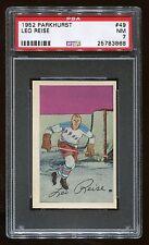 1952 Parkhurst #49 Leo Reise *NY Rangers* PSA 7 NM #25783868