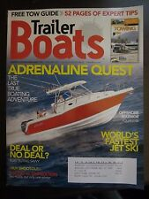 Trailer Boats Magazine February 2007 Offshore Warrior Polar 2700 Tow Guide D