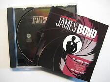 JAMES BOND 007 THE HITS OF BOND - CD - O.S.T. SOUNDTRACK SAMPLER COVER VERSIONS