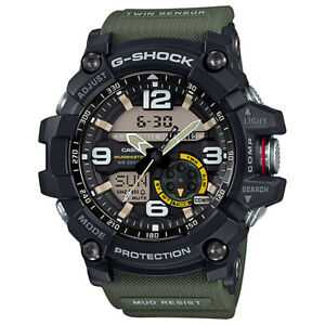BRAND-NEW-CASIO-G-SHOCK-MASTER-OF-G-MUDMASTER-WATCH-GG-1000-1A3-GREEN
