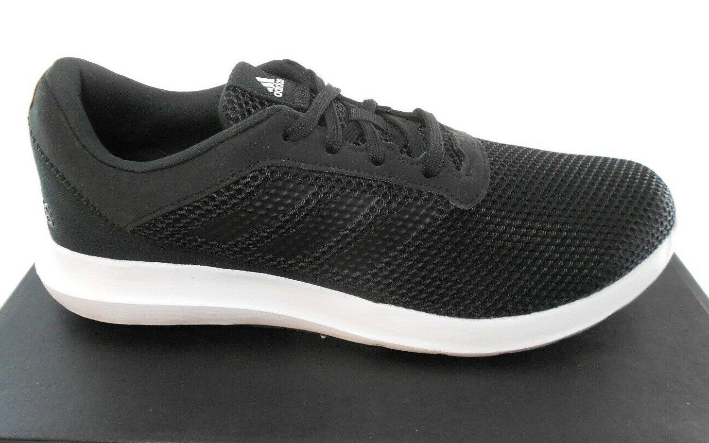 Adidas cloudfoam elemento refrescar 3 m running hombres negro / blanco running m zapatos, # bb3599 a8c77e