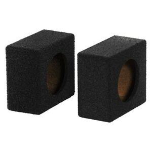 Details about NEW (2) 6 5 Speaker Cabinet Box Pair Sealed  Bass Enclosure bed liner Subwoofer