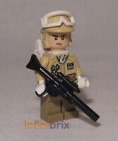 Lego Hoth Rebel Trooper From Set 8083 Battle Back Star Wars Brand Sw259