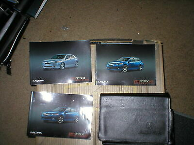 2012 Acura TSX Owners Manual with case
