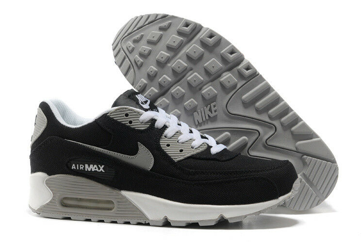 Nike Air Max 90 Laced us:10 canvas Negro nuevo gr:44 us:10 Laced verano cortos 95 97 New 3eff6c