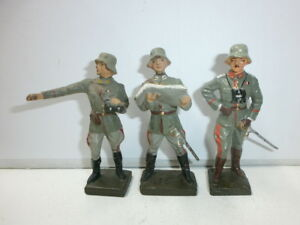 Convolute-3-Old-Lineol-Ground-Soldiers-Officers-Generals-to-7-5cm