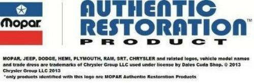 1969 Dodge Chrysler Plymouth 383 4bbl Automatic Trans Emissions Decal NEW MoPar