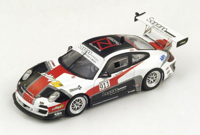 Spark PP004 1/43:Porsche 911 GT3 RS  911 Winner Div.1 Pikes Peak 2014 V.Beltoise