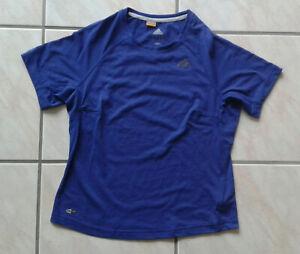 Details zu Adidas Damen Fitness T-Shirt 40 Climalite Clima 365 blau dri  release Sportshirt