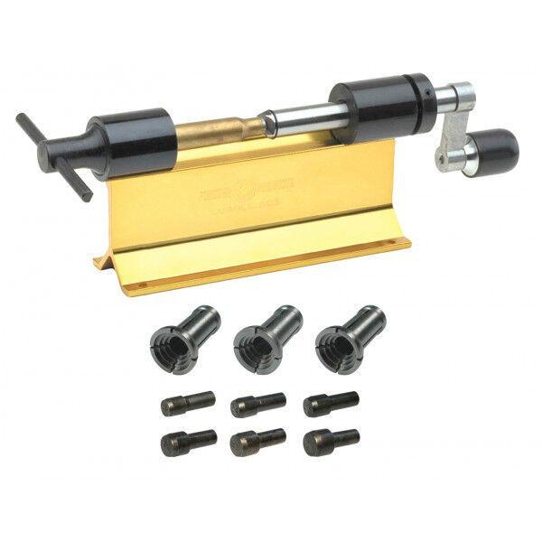 Condensador de ajuste caso de precisión FORSTER ORIGINAL Kit CTK100 con collares y pilotos