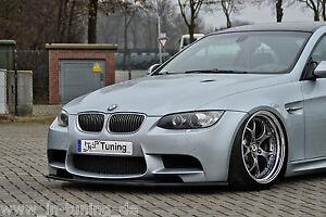 SPOILER-spada-front-spoiler-labbro-in-ABS-BMW-e92-e93-m3-Coupe-Cabrio-con-ABE