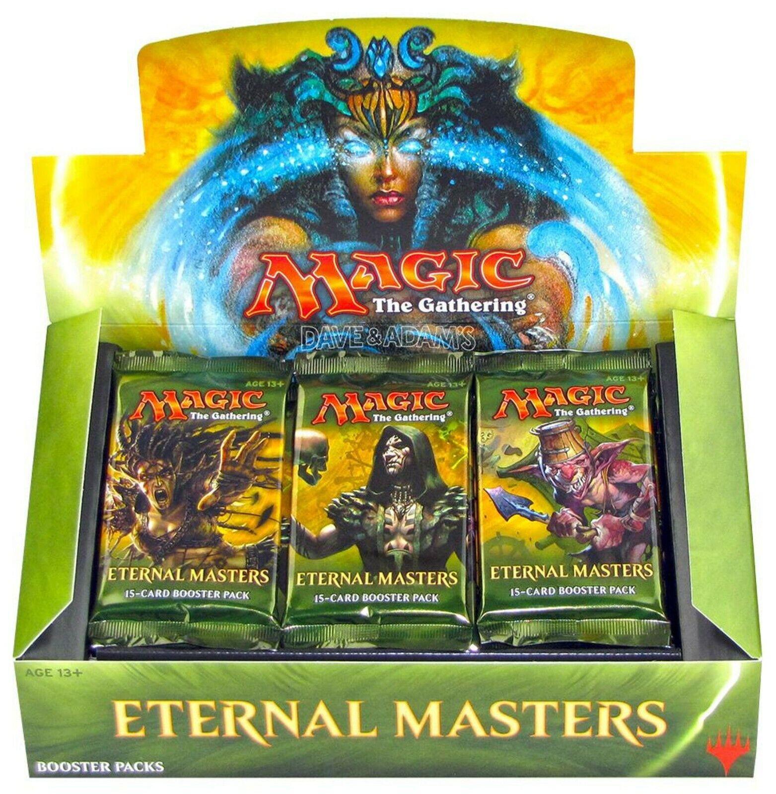 magi MTG Eternal Masters Booster låda Factory förseglade engelska