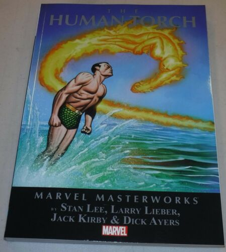 Marvel Masterworks Human Torch Volume 1 TP Trade Paperback