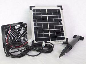 5 watt 12 volt solarl fter solar l fter ventilator. Black Bedroom Furniture Sets. Home Design Ideas