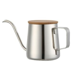 350Ml-Long-Narrow-Spout-Coffee-Pot-Gooseneck-Kettle-Stainless-Steel-Hand-Dr-W6F0