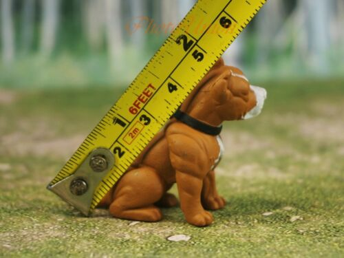 Hood Hounds Pit Bull Pitbull Capo Dog 1:18 GI Joe Size Cake Topper Figure K1285D