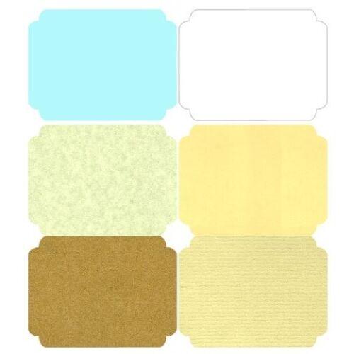 Envelpes Brown White BLUE CREAM 12 Personlized Wedding Bells Wishing Well Card