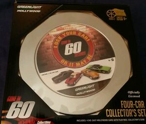 Details about GREENLIGHT 59020A HOLLYWOOD FILM REELS SERIES 2 GONE IN 60  SECONDS