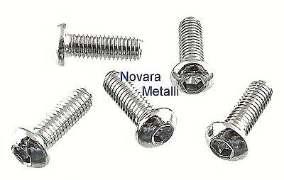 Viti a testa TORX ISO 7380 a2 in acciaio inox nero m5 diverse lunghezze