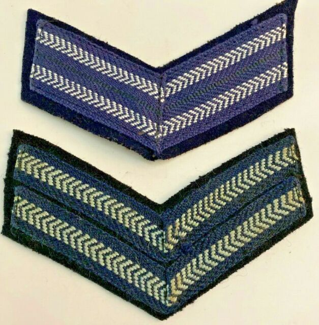 2 Bar Corporal Chevrons Service / Rank Stripes