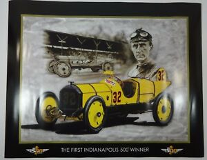 First-Indianapolis-500-Winner-Ray-Harroun-Marmon-Wasp-Collector-Poster-Unframed