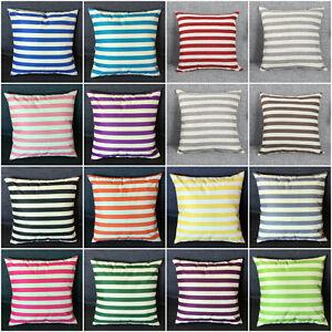 18-034-Stripe-Print-Casual-Flax-Sofa-Bed-Home-Decor-Pillow-Case-Cushion-Cover-Throw
