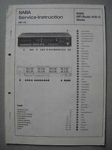 SABA-HiFi-Studio-8120-G-Stereo-Service-Manual