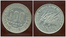 CONGO   100  francs 1975