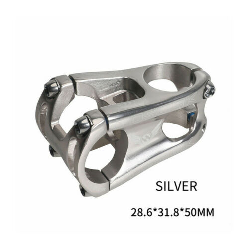 TOSEEK Bike Stem Aluminum Alloy MTB DH AM XC Bike Handlebar Stem 28.6*31.8*50mm