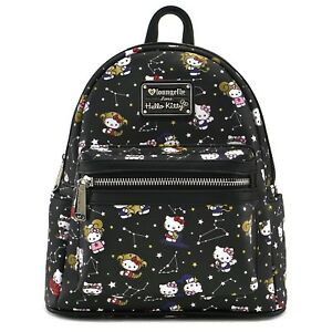 27f961d40c Image is loading Loungefly-Sanrio-Hello-Kitty-Zodiac-Faux-Leather-Mini-