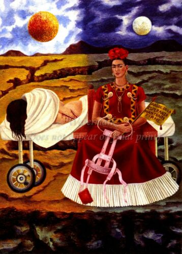 "FRIDA KAHLO Art Poster or Canvas Print /""Tree Of The Hope Be Held Right/"""