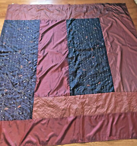 patchwork-shiny-shower-curtain-burgundy-red-orange-64x-72-inches-Springs