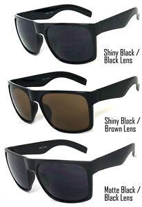 2507aff0a438a 1 o 2 Par Retro Grande Gafas de Sol Cuadradas Hombre Mujer Lente ...