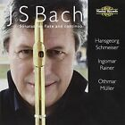 Bach: Sonatas for flute and continuo (CD, Nov-2008, 2 Discs, Nimbus)