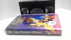 Disney Beauty And The Beast Original Black Diamond Edition On Vhs Ebay