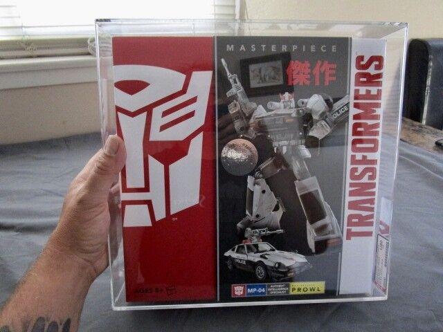 2014 Transformers AFA Masterpiece MP 04 Prowl Exclusive Sealed MISB MIB BOX