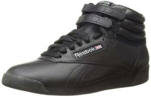 85755803deb Image is loading Reebok-Women-039-s-Freestyle-Hi-Walking-Shoe