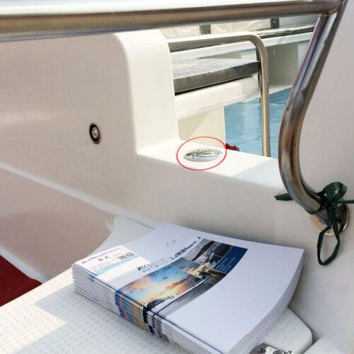 """2 /""""Fuel Gas Benzin Deck Fill Tankdeckel für Marineboote Heavy Duty 1 1"""