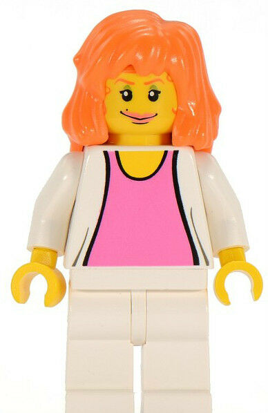 LEGO Super Heroes: Spider-Man MiniFigure - Mary Jane 3  Set 4852 mint