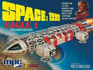 2013 MPC #791 1/72 Space 1999 Eagle 1 Transporter Plastic Model Space Craft KIT