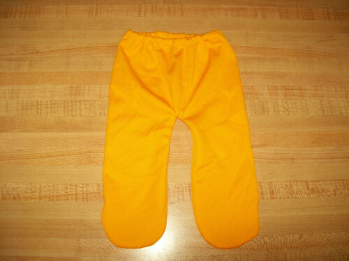 """YELLOW-ORANGE TIGHTS LEGGINGS STOCKINGS for 15-16-17/"""" CPK Cabbage Patch Kids"""