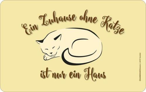 23,5 x 14,5cm Neu 7342 Frühstücksbrettchen Geschenk Katze Tierfreund   Gr